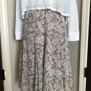 Liz Claiborne silk skirt size 4